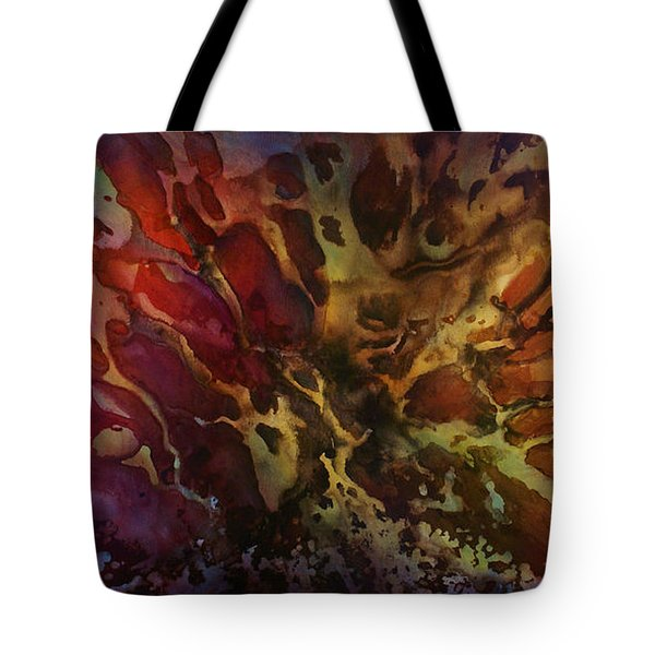 Abstract Design 74 Tote Bag by Michael Lang