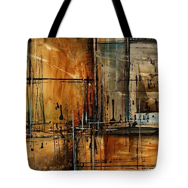 Abstract Design 76 Tote Bag by Michael Lang