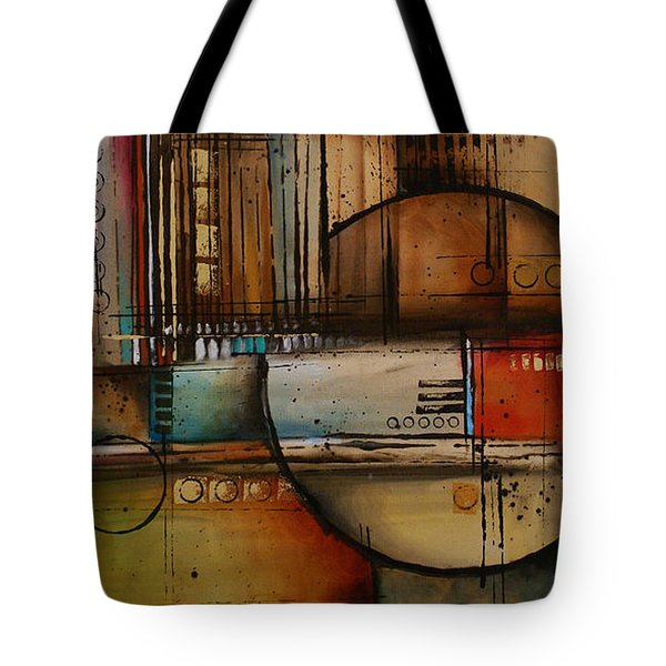 Abstract Design 77 Tote Bag by Michael Lang