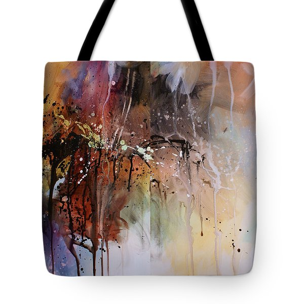 Abstract Design 80 Tote Bag by Michael Lang