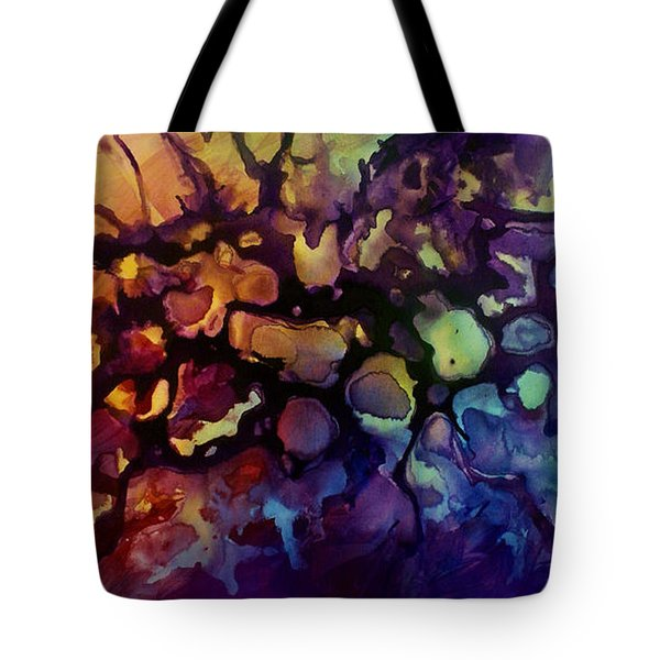 Abstract Design 83 Tote Bag by Michael Lang