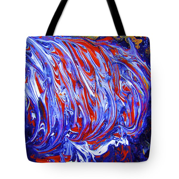 Abstract Digital #2 Tote Bag by Renee Anderson
