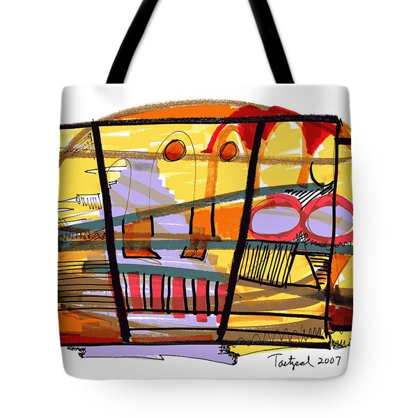 Abstract Drawing Sixty-seven Tote Bag