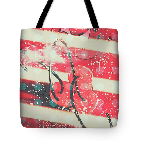 Abstract Dynamite Charge Tote Bag