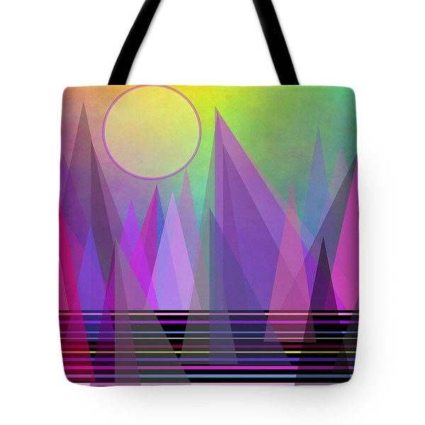 Abstract Elevation Tote Bag by Kathleen Sartoris
