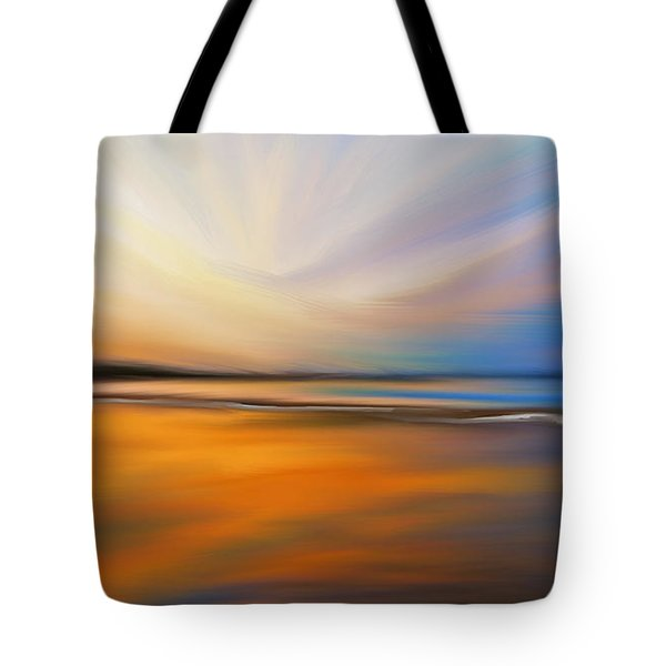 Abstract Energy Tote Bag