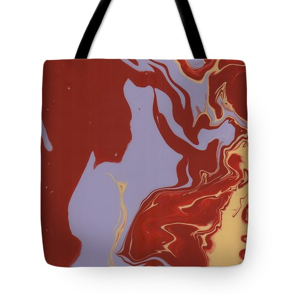Abstract Ex Tote Bag by Greg Pitts