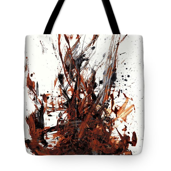 Abstract Expressionism Painting 50.072110 Tote Bag