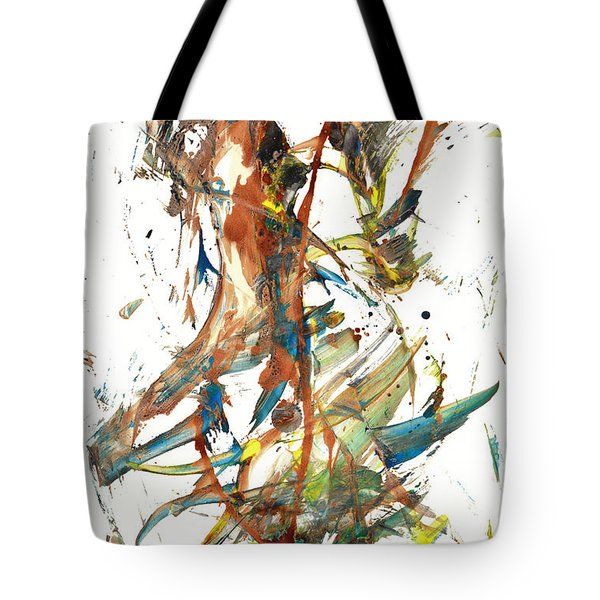 Tote Bag featuring the painting Abstract Expressionism Painting Series 1039.050812 by Kris Haas