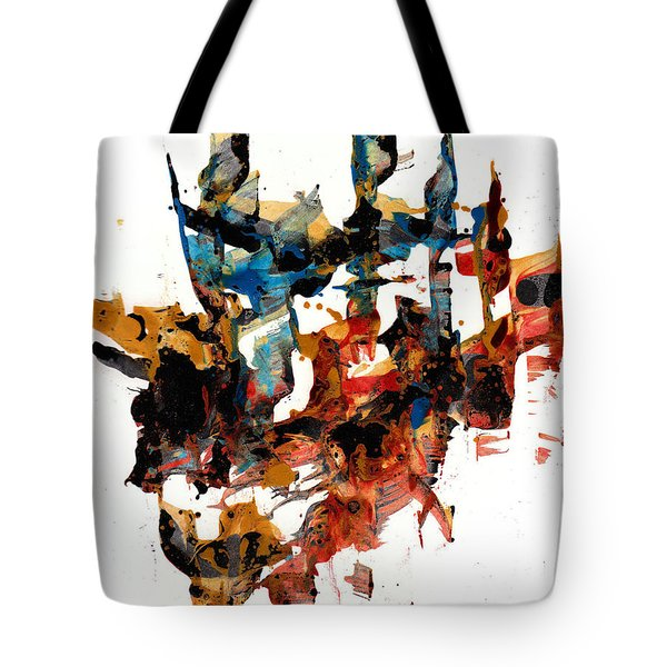 Abstract Expressionism Painting Series 750.102910 Tote Bag