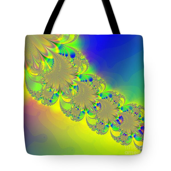 Abstract Feather 2 Tote Bag