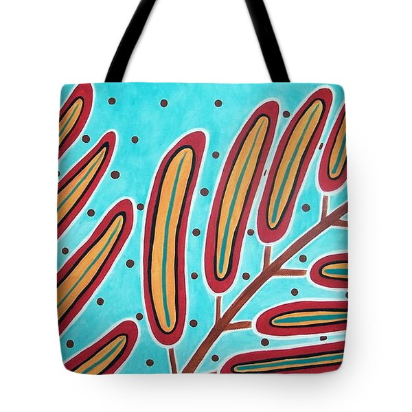 Abstract Ferns Tote Bag by Karla Gerard