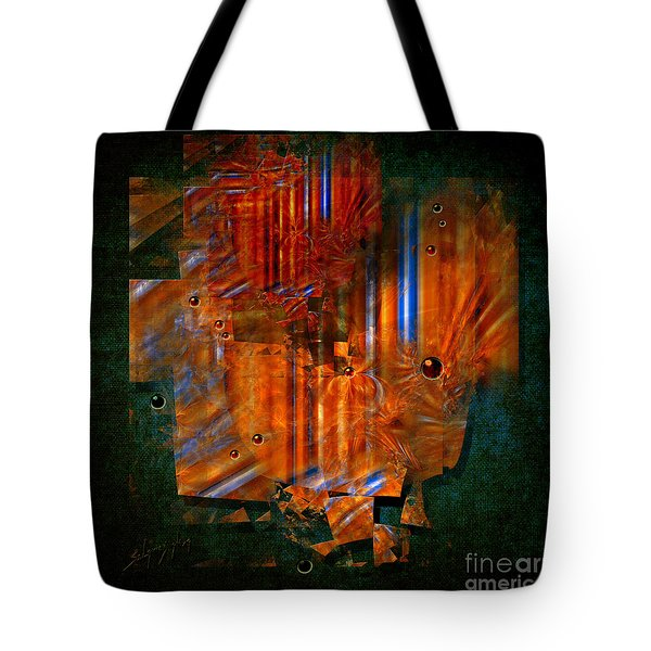 Abstract Fields Tote Bag