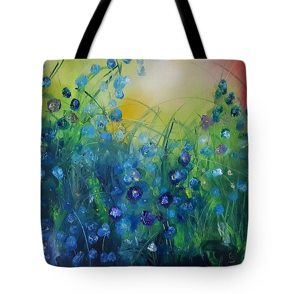 Abstract Flax           31 Tote Bag