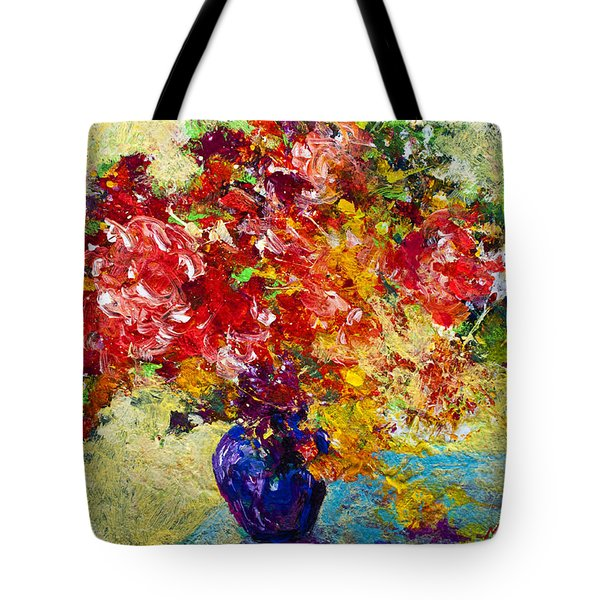 Abstract Floral 1 Tote Bag