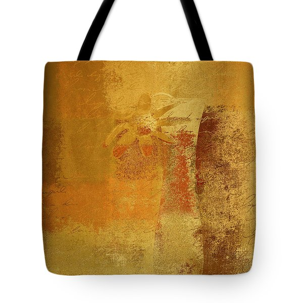 Abstract Floral - 14v2ct01a Tote Bag