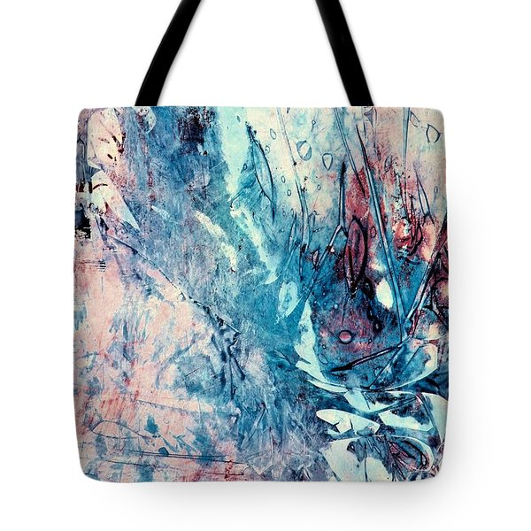 Abstract Floral 33 Tote Bag