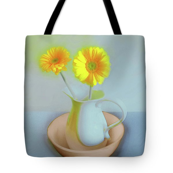 Abstract Floral Art 302 Tote Bag