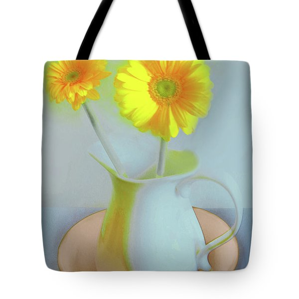 Abstract Floral Art 303 Tote Bag