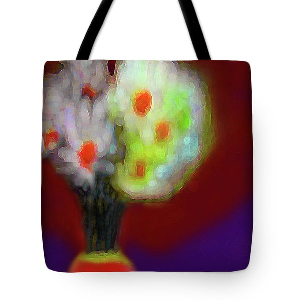 Abstract Floral Art 340 Tote Bag