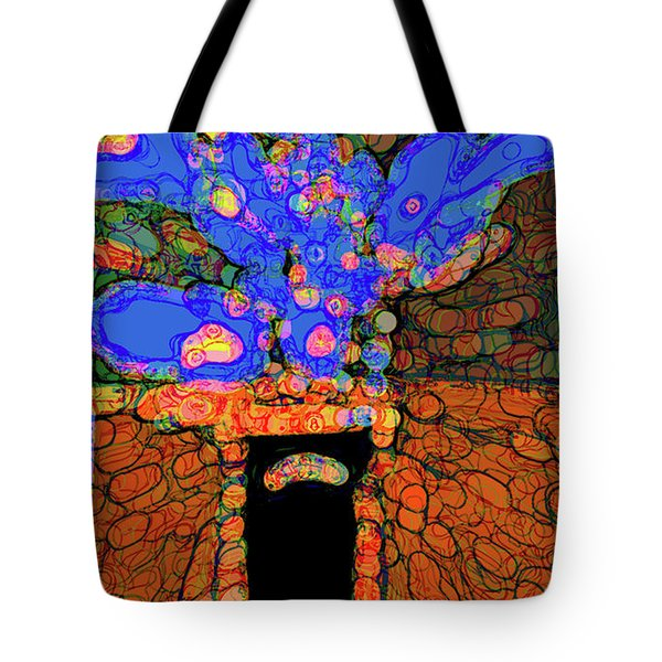 Abstract Floral Art 77 Tote Bag
