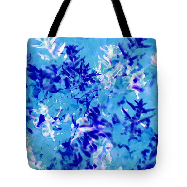 Abstract Floral No.1 Tote Bag