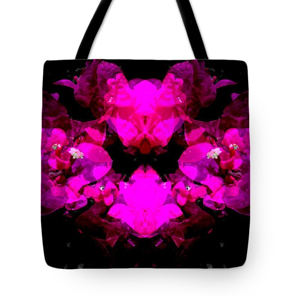 Abstract Floral No.2 Tote Bag