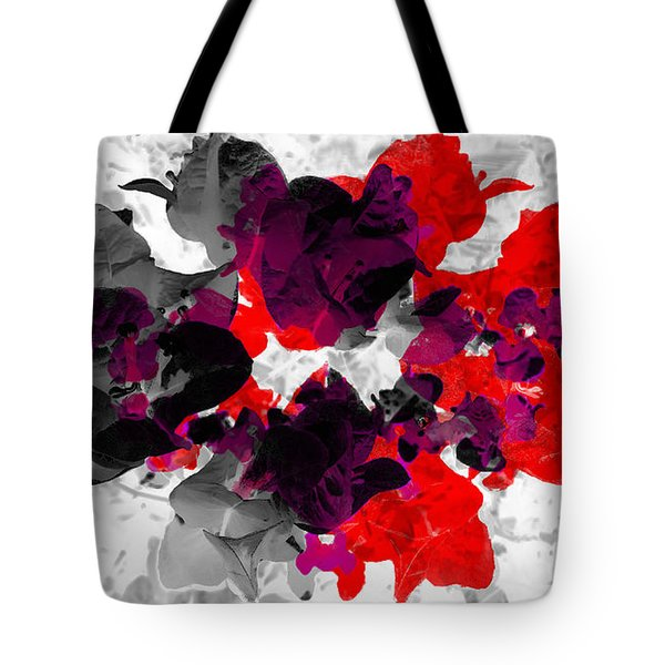 Abstract Floral No.3 Tote Bag