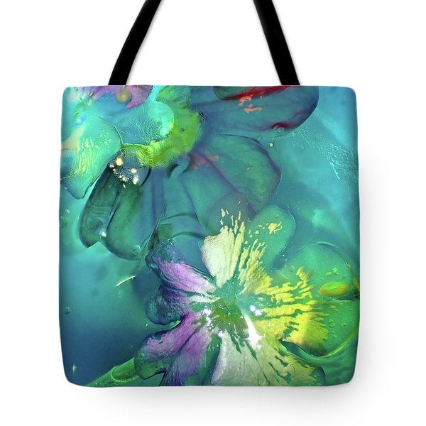 Abstract Flower 2 Tote Bag