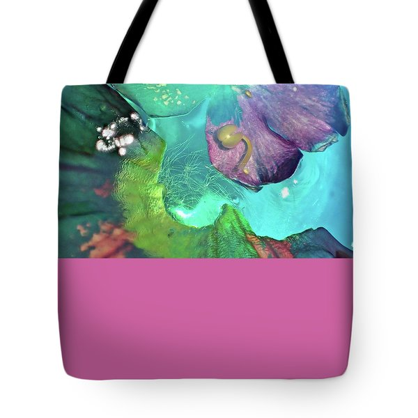 Abstract Flower 3 Tote Bag