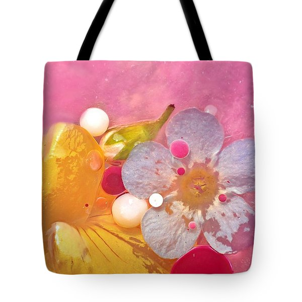 Abstract Flower 4 Tote Bag