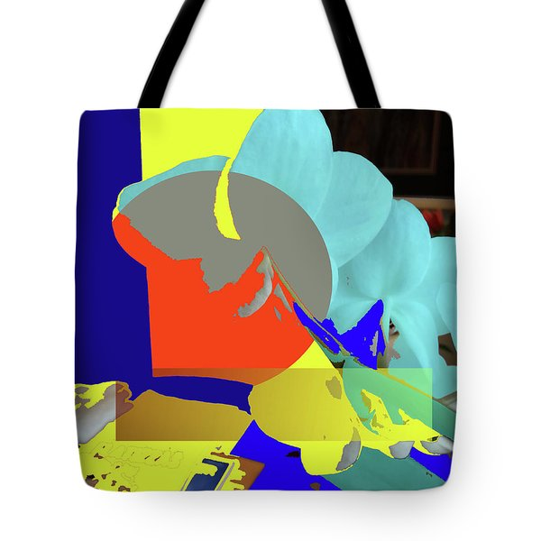 Abstract Flowers Of Light Series #14 Tote Bag