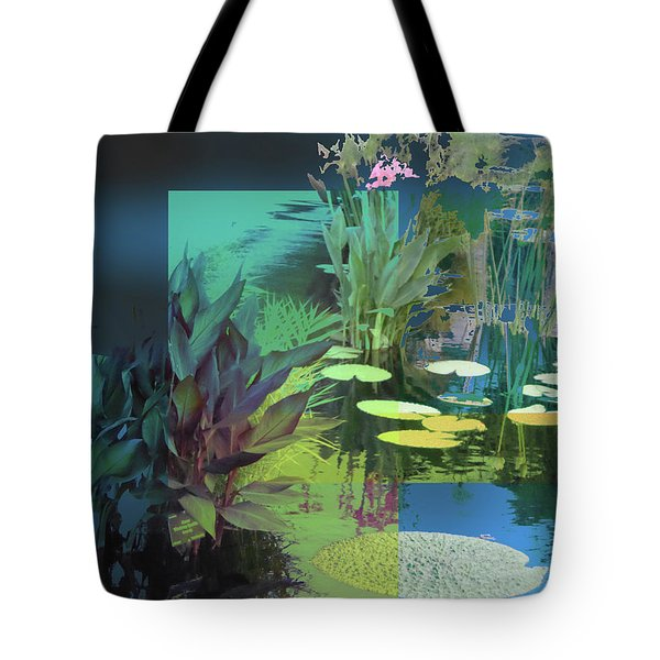 Abstract Flowers Of Light Series #20 Tote Bag
