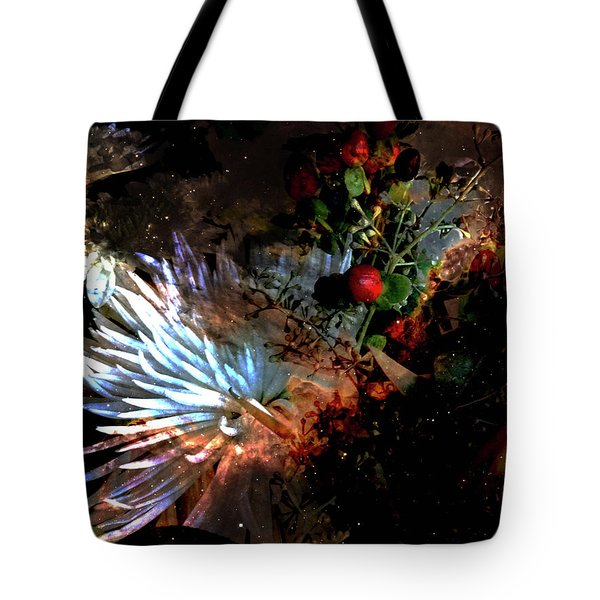 Abstract Flowers Of Light Series #5 Tote Bag