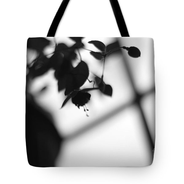 Abstract Flowers Tote Bag by Todd A Blanchard