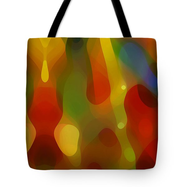 Abstract Flowing Light Tote Bag by Amy Vangsgard