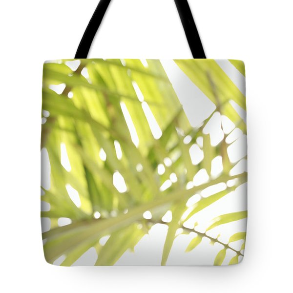 Abstract Foliage Tote Bag by Gaspar Avila