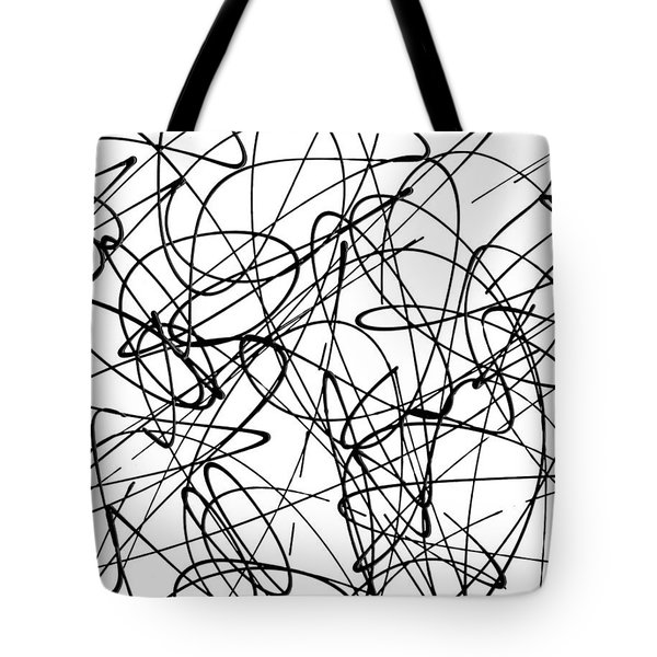 Abstract For Cave Exploration Tote Bag by Ismael Cavazos