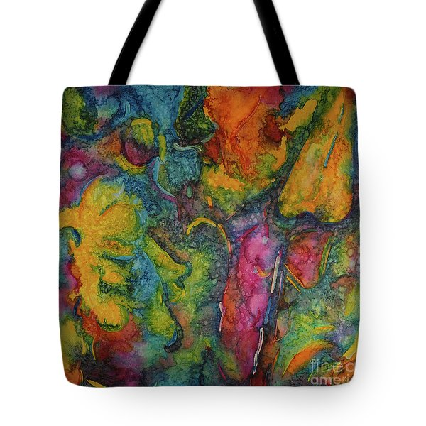 Abstract From Kansas City Tote Bag by Jacqueline Phillips-Weatherly