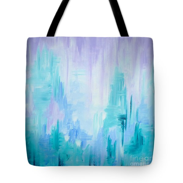 Abstract Frost 1 Tote Bag