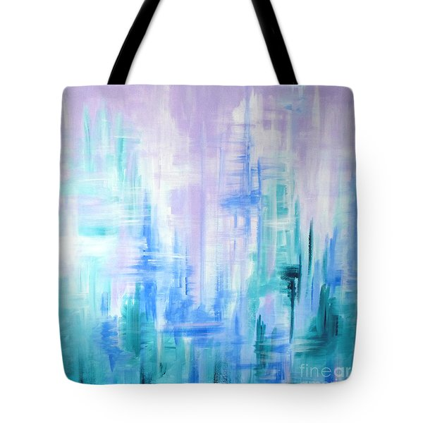Abstract Frost 2 Tote Bag
