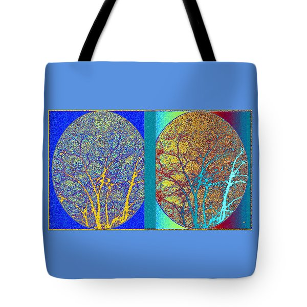 Tote Bag featuring the digital art Abstract Fusion 276 by Will Borden