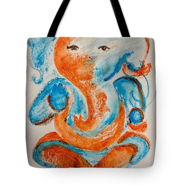 Abstract Ganesha Tote Bag