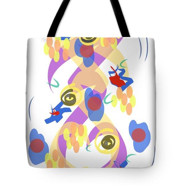 Abstract Garden #5 Tote Bag