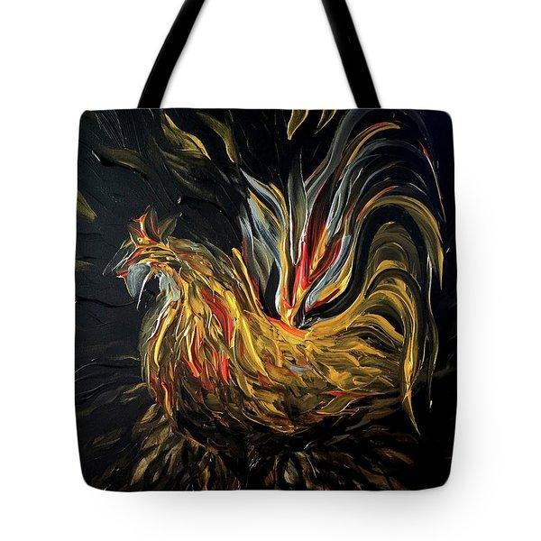 Abstract Gayu Tote Bag