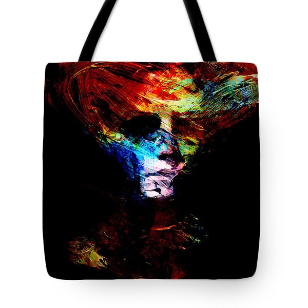 Abstract Ghost Tote Bag