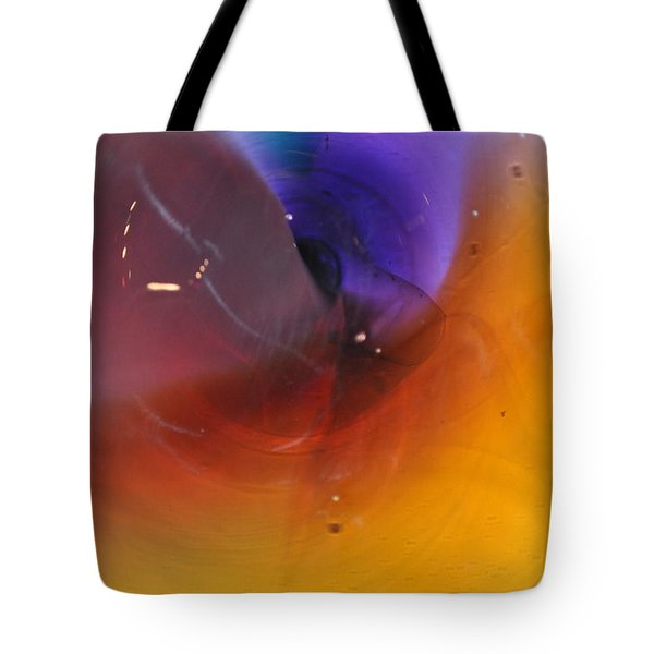 Abstract Glass 56 Tote Bag by Marty Koch