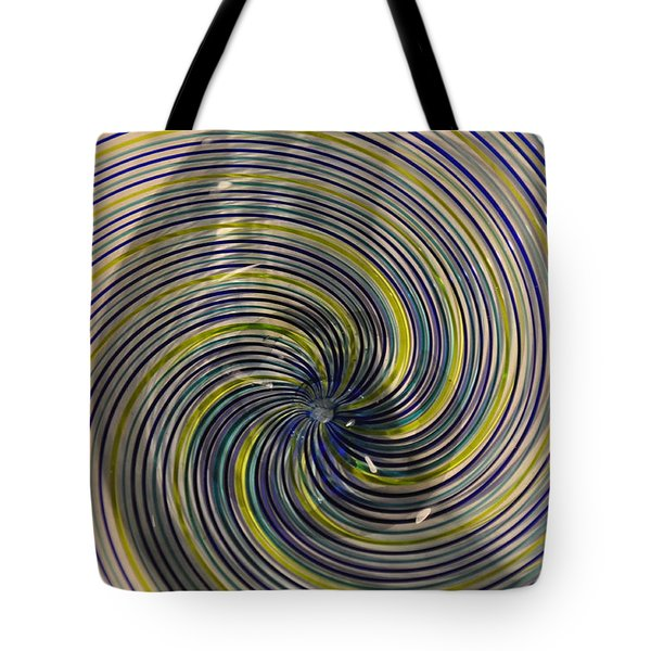Abstract Glass 6 Tote Bag by Marty Koch