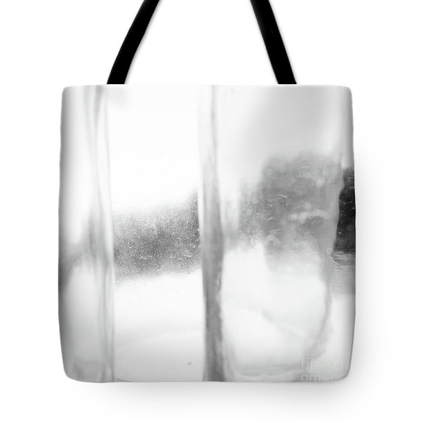 Abstract Glass Study 3 Square Tote Bag