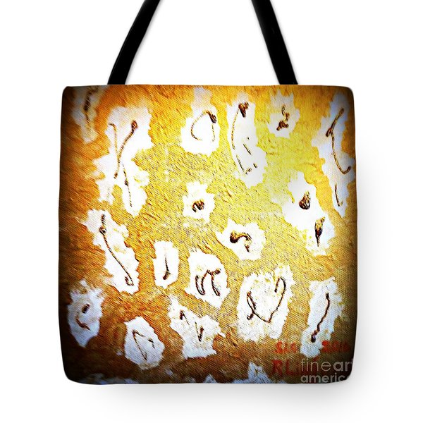 Bling Abstract Gold 1 Tote Bag